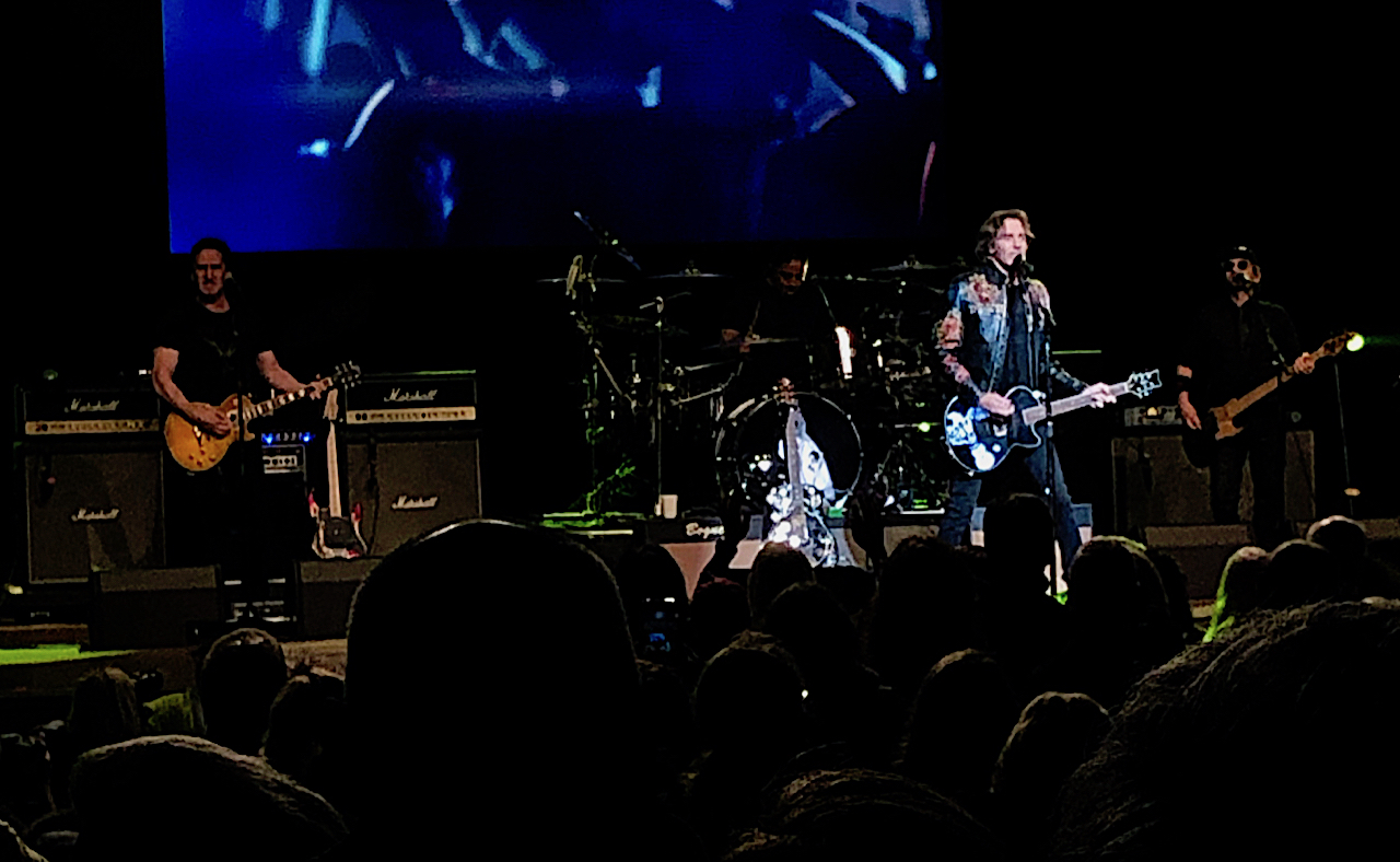 Rick Springfield in concert at Ravinia, Highland Park, IL