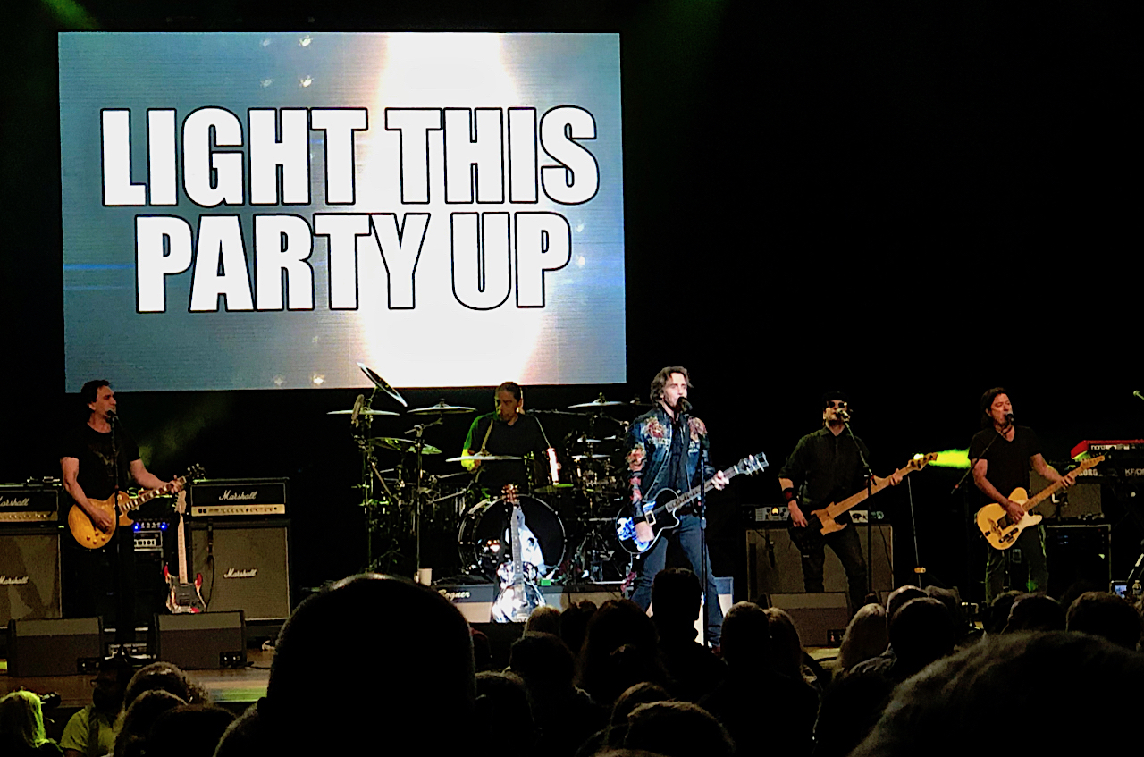 Rick Springfield in concert, Ravinia, HIghland Park, IL
