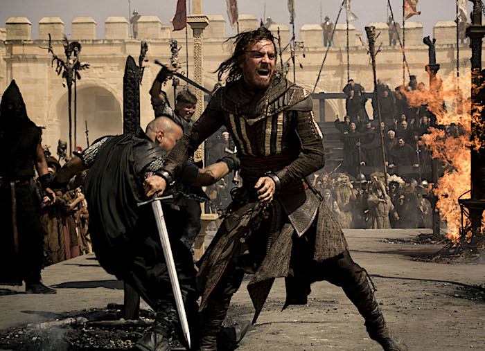 Michael Fassbender is Callum in Assassin's Creed