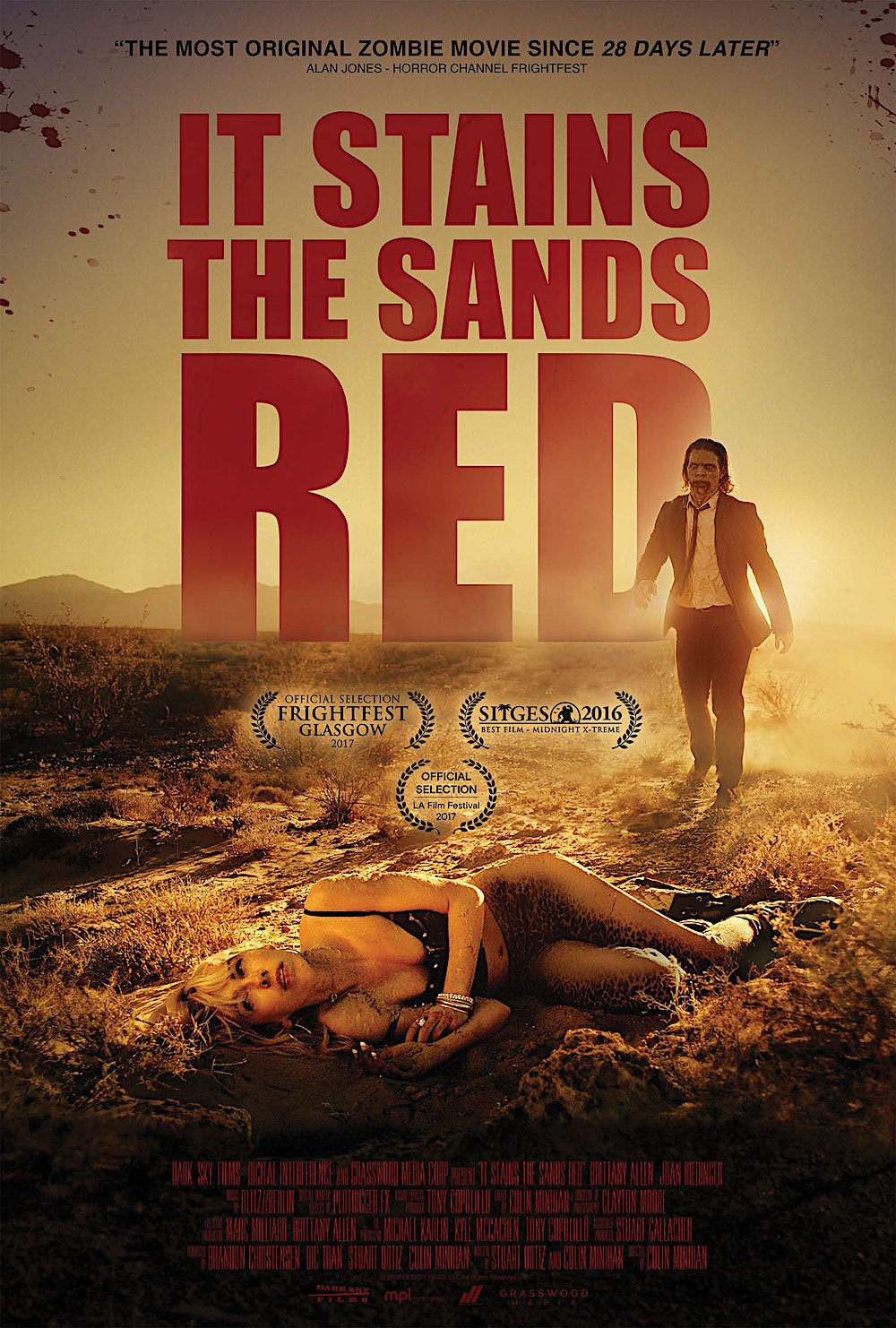 It Stains the Sand Red on Blu-ray and VOD