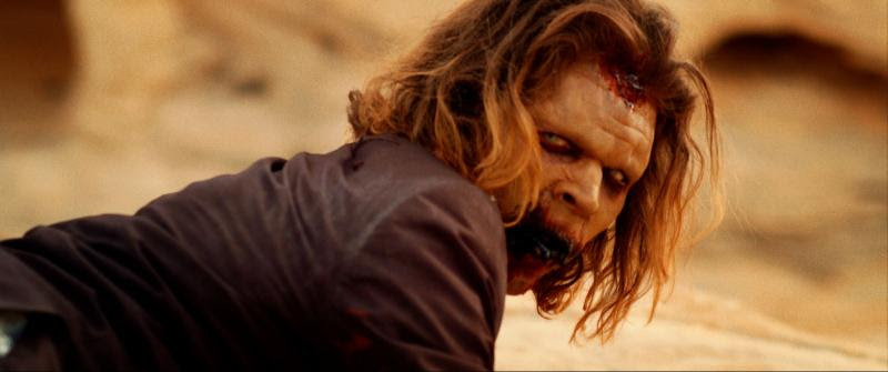 Juan Riedinger is Smalls the zombie in It Stains the Sand Red