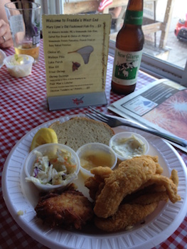 Friday Fish Fry at Freddie's West End at Lake Como